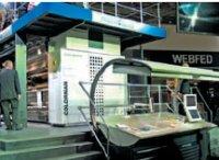 Ряд построения Colorman имеет горизонтальную проводку полотна для 24 полос при максимальной скорости печати 86000–90000 экз./ч