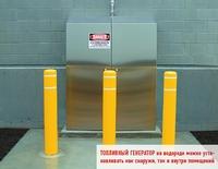 Топливный генератор на водороде можно устанавливать как снаружи, так и внутри помещений