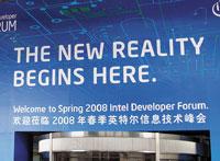 Главной темой на весеннем форуме разработчиков Intel Developer Forum вШанхае стала мобильность