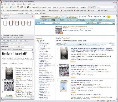 Highlight, созданное вIBM расширение для Firefox, делает Web-страницы «тоньше»— специально для мобильных пользователей