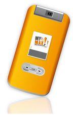 Самоклеящийся модуль MyMax, содержащий передатчик Bluetooth, маленькую батарейку, микросхему NFC и одну или несколько смарт-карт, можно установить практически на любой телефон