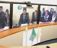 Среди возможностей новой сети «Казахтелекома» — проведение сеансов телеконференц-связи с применением технологии телеприсутствия