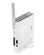 Рисунок 9. Многофункциональное устройство Mobile WiMAX/WiFi Center 4G (Asus WMVN25E2+) стоимостью 9500 руб. предназначено для организации коллективного доступа в Internet в сети 4G, IP-телефонии VoIP (встроенный клиент SIP, кодеки G.711, G.723, G.726, G.729) и создания локальных сетей. Оно поддерживает WiFi (802.11 b/g/n-draft), имеет четыре порта Fast Ethernet (10/100BaseTX), два телефонных порта FXS и соответствует стандарту WiMAX IEEE 802.16e Wave 2 (2,5-2,7 ГГц).