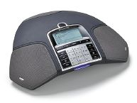 Рисунок 4. Конференц-телефон Konftel поддерживает подключение не только по беспроводному стандарту DECT, но и по Bluetooth. Его можно подключить, например, к настольному ПК или ноутбуку и, управляя с его помощью звонками, проводить совещания через Internet посредством популярных программ IP-телефонии (Skype и др.). Подключив этот аппарат к мобильному телефону (GSM) по Bluetooth, можно организовать групповое совещание.