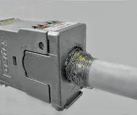 Рисунок 6. Заделка дважды экранированного кабеля в соединитель.