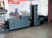 Новейшая линия Duplo System 3500 на основе брошюровальной машины Duplo DBM-350 и триммера Duplo DBM-350T встречала посетителей у входа в зал — на стенде Offitec (