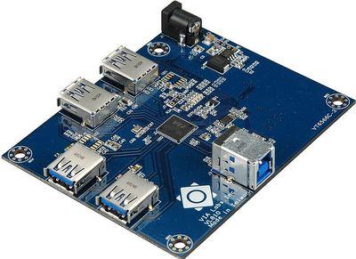 Новое поколение контроллеров USB, к числу которых относится и чип Via VL810, позволяет обеспечить подключение устройств на скорости, близкой к теоретическому максимуму USB 3.0