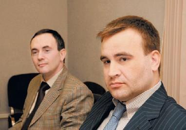 М. Шпилькин (на снимке справа – А. Киреев):