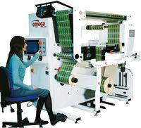 AB Graphic International расширила ассортимент контрольно-перемоточных систем Omega установкой VSR вертикального построения