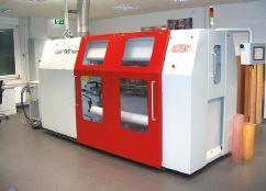 Термальный формный процессор Cyrel FAST round FR 1450 обрабатывает в час до 4–5 фотополимерных рукавных форм размером 1450в500 мм