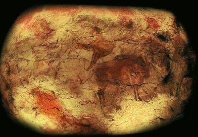 Название линейка продуктов Altamira получила в честь одноименной пещеры в Испании, где практически без изменений сохранились цветные наскальные рисунки эпохи верхнего палеолита, их возраст 11-19 тыс. лет. Современным разработчикам чернил есть к чему стремиться по части долговечности отпечатков