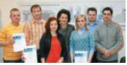 Участники семинара вместе с преподавателем PMA Еленой Буларга (в центре)