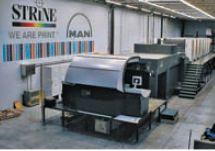 Strine добавила к парку автоматизированную 7-красочную Roland 907 (163 см) в полной УФ-комплектации, полностью обеспечивающую потребности заказчиков