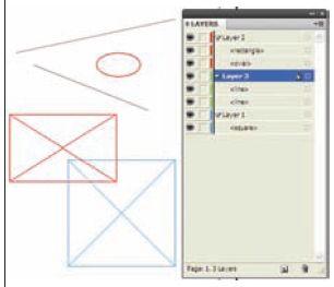 Рис. 4. Панель Layers