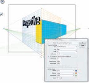 Можно создавать шаблоны перспективных сеток (Edit — Perspective Grid Presets…) и даже делиться ими с коллегами