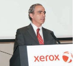 На пресс-конференции Xerox один из журналистов начал свой вопрос так: