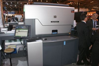 HP Indigo 7500 в линию с новой ВШРА Alpha от Duplo и УФ-лакировальной машиной от GMP