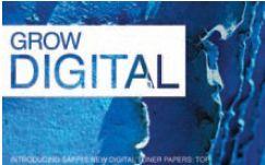 Даже крупнейший в мире производитель чистоцеллюлозной бумаги Sappi не остался в стороне от рынка цифровой печати