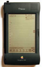 MessagePad 2000 — одна из последних моделей Newton, выпущенная в начале 1998 г.