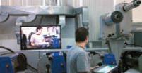 Gallus ECS 340 успешно работала с не самым простым материалом— прозрачной плёнкой