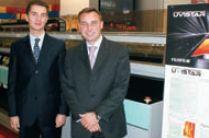 Е. Мостовой (слева) и Д. Браун