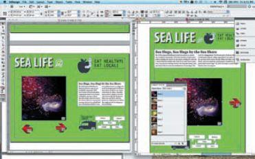 Макеты страниц в двух вариантах расположения создаются в InDesign CS5