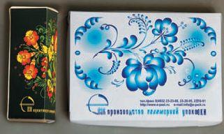 Картонные коробочки нередко приходится печатать как единичные образцы для оценки и последующего заказа тиража партнёрам, имеющим офсетное оборудование. Удобно, что на планшетном режущем плоттере можно выполнять биговку