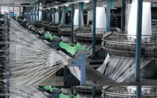 Изготовление ПЭ-материала Aria на фабрике Yeong Jeou