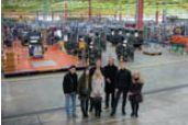 На заводе в г. Вислох-Вальдорф: лучшие студенты