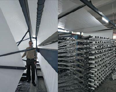 На производстве активно развивающих направление экологически чистых материалов Yeong Jeou – так делают Aria на ПЭ