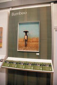 Показанная на Photokina-2010 бумага Bamboo действительно включает волокна бамбука