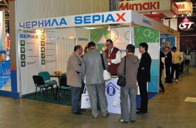 Sepiax набирает популярность. Так было и на выставке