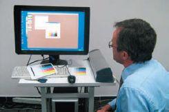 Процесс корректировки профиля печати