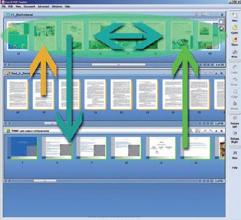 В режиме Assembly View работать с документами очень удобно
