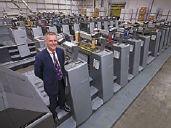 Управляющий директор Bishops Printers Гаррет Робертс гордится своей типографией, в которой установлено 58 секций Speedmaster для формата B2 (Предоставлено