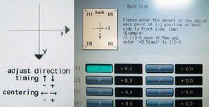 С помощью меток на бумажном листе удаётся достигнуть совмещения лица и оборота за несколько минут с точностью порядка 0,5 мм. При необходимости можно вести борьбу за качество и далее