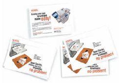 Создатели Xerox Digital Envelopes обещают беcпроблемную работу этих конвертов с любой цифровой печатной техникой