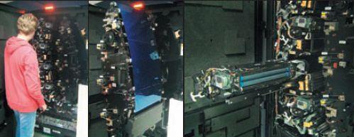 Масштаб узла печати впечатляет. Все узлы, в т. ч. фоторецептор (в центре) и узел проявки (справа), удобно выдвигаются для обслуживания