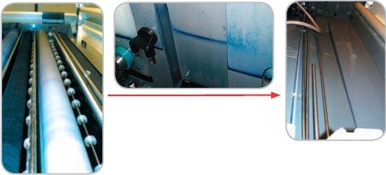 После слива химии ёмкость достаточно промыть водой, чтобы получить практически чистую поверхность ванны и узлов процессора. При использовании обычной химии необходимо регулярно удалять образующиеся отложения сильными средствами очистки, а затем отмывать от них процессор