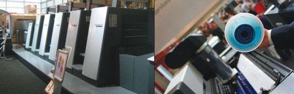 Speedmaster XL 75-5+LX: картриджи с краской после использования остаются практически чистыми (см.: Захаржевский Ю. Операция