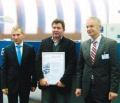 Слева направо: Ю. Уколов (генеральный директор ООО