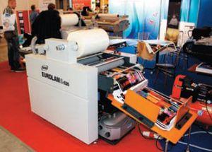 GMP Eurolam 520: новейший индукционный способ нагрева вала позволяет за 10 минут подготовить ламинатор к работе, обеспечивает равномерное распределение нагрева по валу и вдвое увеличивает срок его службы