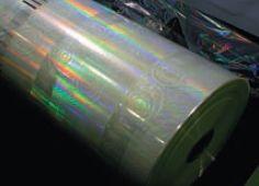 Специальная плёнка недёшева — вЯпонии такой рулон с выгравированными с использованием лазера узорами (хватает на тираж 10 000, но можно прогонять до 10-ти раз) обходится примерно в 5000 евро