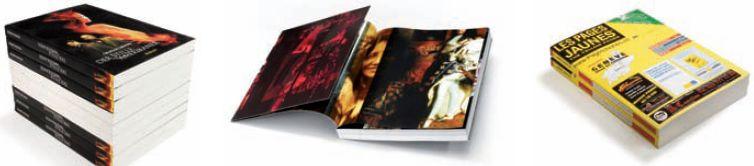 Типовая продукция для клеевого скрепления: книги в мягкой обложке, телефонные справочники, журналы, каталоги, брошюры, технические инструкции. Фото: Muller Martini