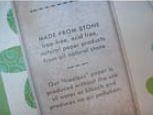 Каменная бумага как образец идеальной экологии