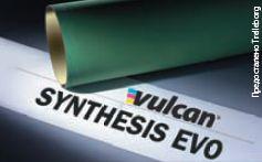 Полотно Vulcan Synthesis evo — новое поколение рукавных материалов для рулонного офсета с сушкой. Будет представлена и пара Rollin Mylar (полотно и формный материал) для лакирования. Аполотно с бессольвентным полиуретановым каркасом Rollin LibiX — универсальное решение для обычной и УФ-печати — уже получило официальный сертификат ISEGA. Предосталено Trelleborg