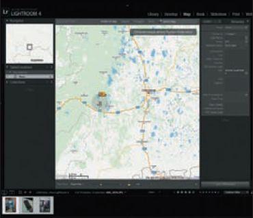 Новый модуль Map служит для географической систематизации снимков с помощью карты и GPS-координат