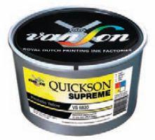 Quickson Supreme можно без проблем оставлять на ночь в красочном ящике печатной машины