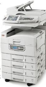 Многофункциональное устрой?ство С9850MFP способно работать ссистемами документооборота