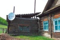 Одна из сельских школ, получивших доступ к Сети с помощью VSAT
